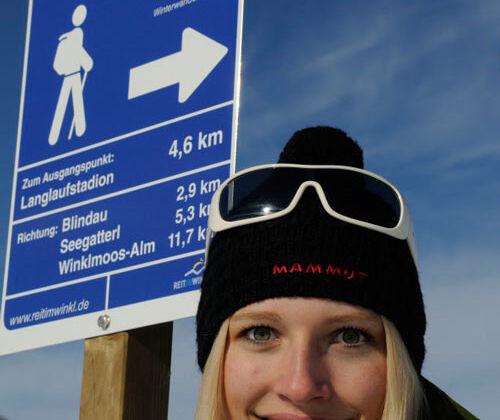 Winterwanderwege Reit im Winkl