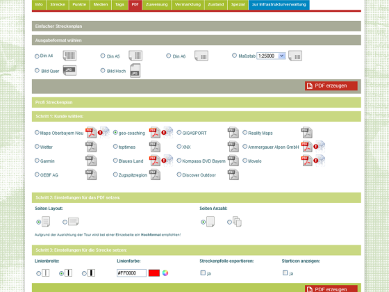 PDF-Administration