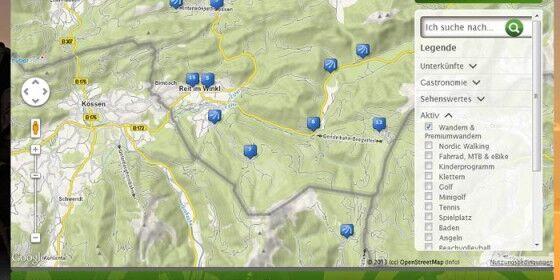 Wandertouren im Chiemgau stark genutzt