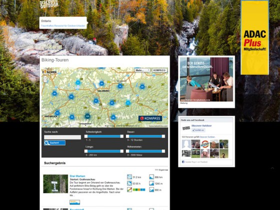 Tourennetzwerk von green-solutions discover-outdoor.com