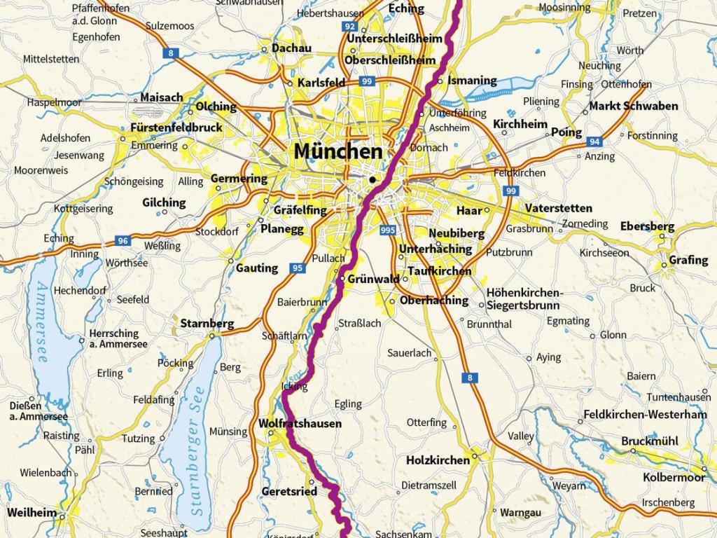 Isarradweg Karte.Custom Maps Osm Green Solutions