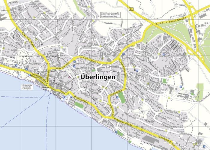 Stadtplan Überlingen