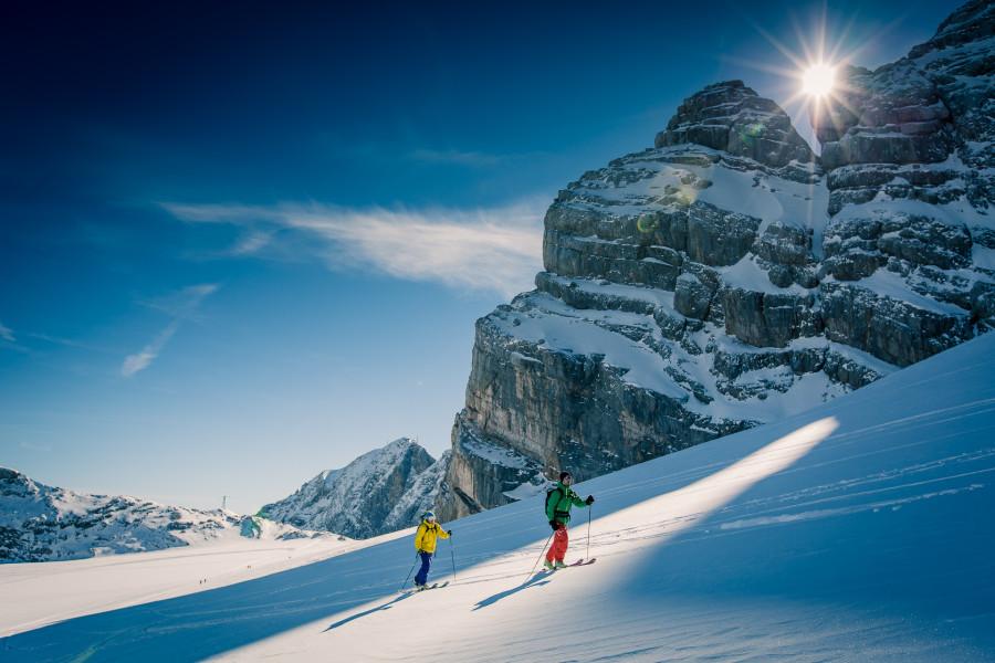 Skitouren am Gletscher