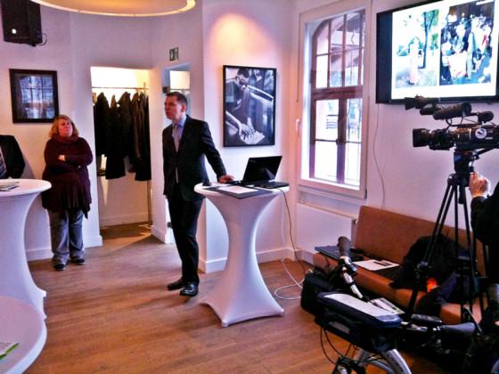 Pressekonferenz mit Herrn Wichert