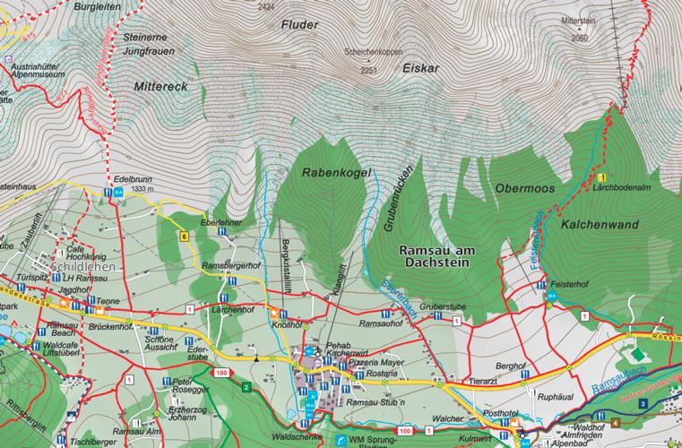 Dachstein Karte.Ramsau Am Dachstein Setzt Auf Custom Maps Von Green Solutions