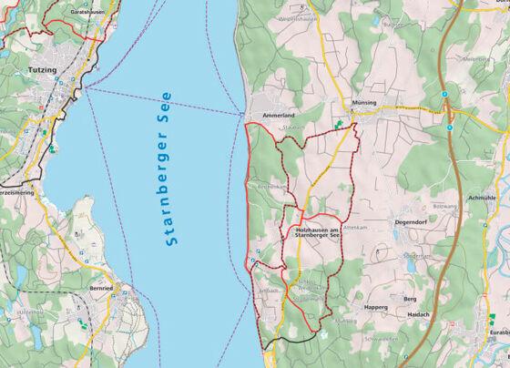 Custom Maps 1:35.000 (OSM-Daten)