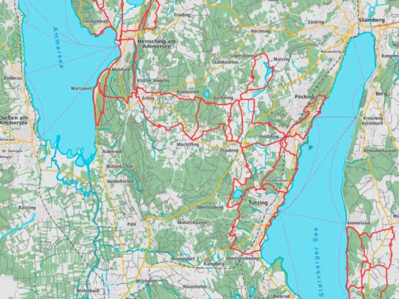 Custom Maps 1:75.000 (OSM-Daten)