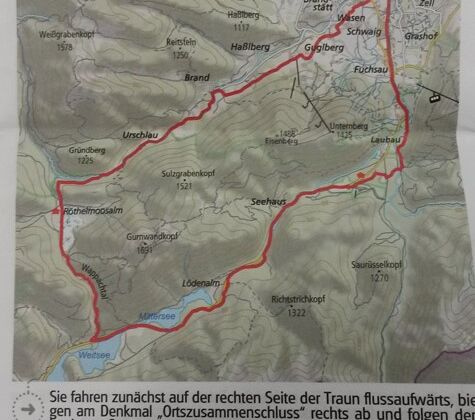 Streckenplan und Roadbook