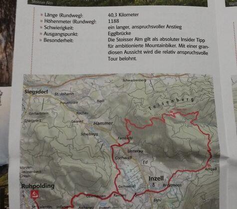 Detailkarten für die MTB-Strecken