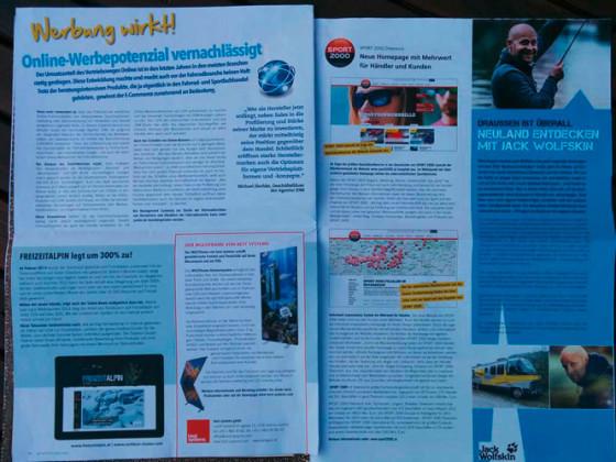 Sport Insider in Österreich berichtet über FreizeitAlpin