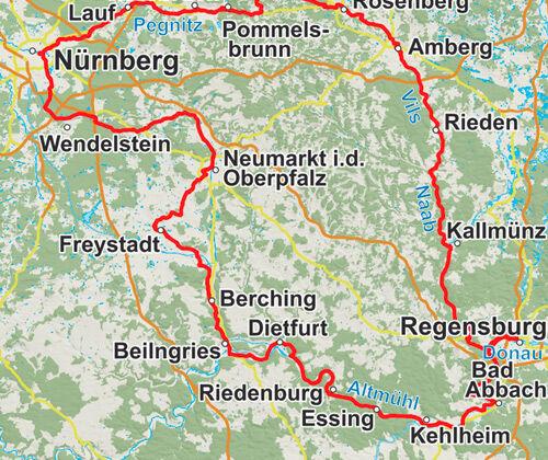 Radtour Ostbayern
