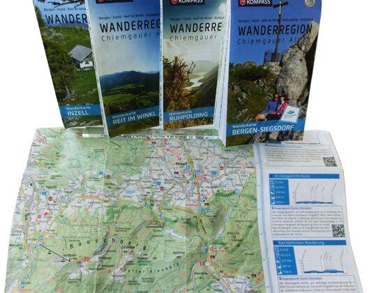Kartenset Chiemgauer Alpen