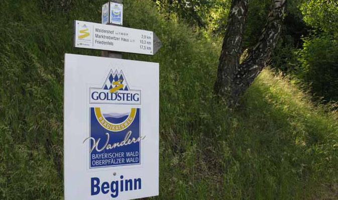 goldsteig-beginn