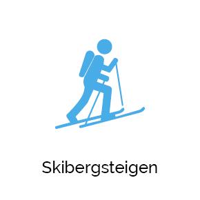 Skibergsteigen