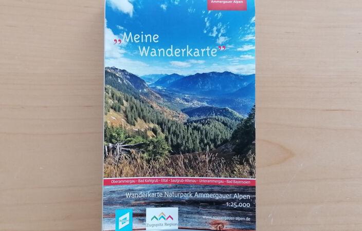 Wanderkarte Ammergauer Alpen