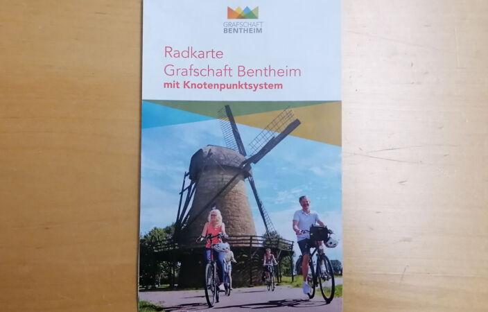 Radkarte Grafschaft Bentheim