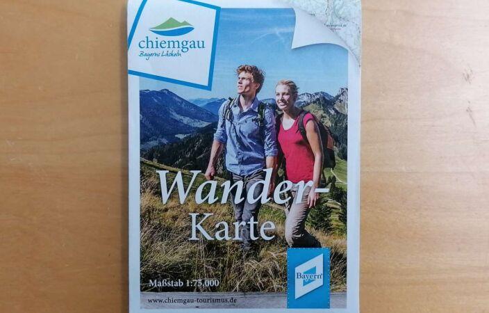 Wanderkarte Chiemgauer Alpen