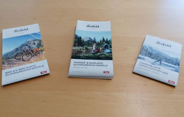 Seefeld Outdoor-Karten Sommer und Winter
